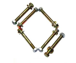 F250/F350 1966-1979 Ford 4WD (w/ Front Skyjacker Springs) - Front Spring Eye Bolt Kit by Jack-It