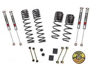 """2-2.5"""" 2018-2019 Jeep Wrangler JL 4dr 4WD Dual Rate-Long Travel Lift Kit by Skyjacker"""