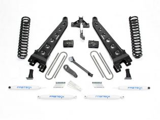 "4"" 2017-2020 Ford F250/F350 Diesel 4WD Radius Arm Lift Kit by Fabtech"