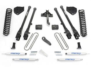 """6"""" 2017-2020 Ford F250/F350 Diesel 4WD 4 Link Lift Kit by Fabtech"""