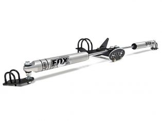 F250/F350 2005-2016 Ford 4WD - Fox Dual Steering Stabilizer by BDS