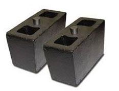 """5.5"""" Tall 2"""" Tapered Lift Blocks by Pro Comp"""