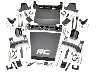 """7"""" 2014-2018 GMC Denali 1500 4WD (w/aluminum factory arms) Lift Kit by Rough Country"""
