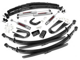 """6"""" 1988-1991 GMC Suburban 1/2 ton 4WD Lift Kit w/ 56"""" Rr Springs by Rough Country"""