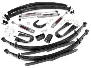 """6"""" 1977-1987 GMC Suburban 1/2 ton 4WD Lift Kit w/ 56"""" Rear Springs by Rough Country"""