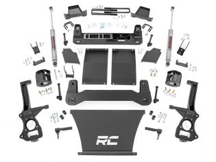 "6"" 2019-2021 Chevy Silverado 1500 4wd & 2wd Lift Kit by Rough Country"