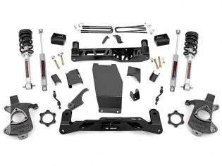 """5"""" 2014-2018 GMC Sierra 1500 4WD Lift Kit (w/lifted struts) by Rough Country"""