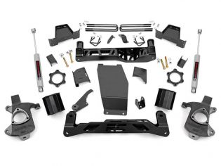 "6"" 2014-2018 Chevy Silverado 1500 4WD Lift Kit by Rough Country"
