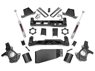 """7.5"""" 2007-2013 GMC Sierra 1500 4WD Lift Kit by Rough Country"""
