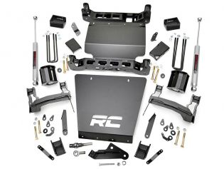 """5"""" 2014-2018 GMC Sierra 1500 4WD Lift Kit by Rough Country"""