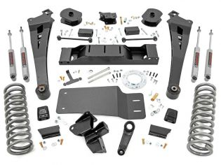"""5"""" 2019-2021 Dodge Ram 2500 (w/diesel engine) 4WD Lift Kit by Rough Country"""