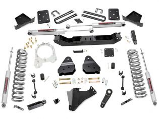 """6"""" 2017-2021 Ford F250/F350 4WD (w/diesel engine & factory overloads) Lift Kit by Rough Country"""