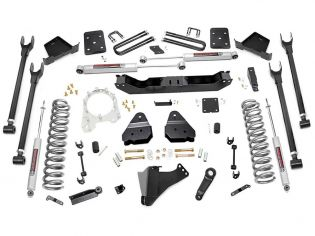 """6"""" 2017-2021 Ford F250/F350 Diesel (w/o overloads)  4WD Lift Kit by Rough Country"""