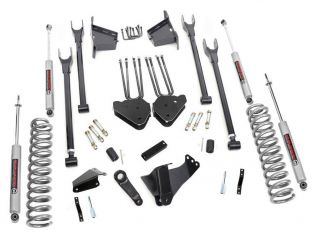 """8"""" 2005-2007 Ford F250/F350 Diesel 4WD 4-Link Lift Kit by Rough Country"""