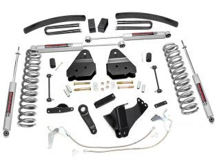 """6"""" 2008-2010 Ford F350 Gas 4WD Lift Kit by Rough Country"""