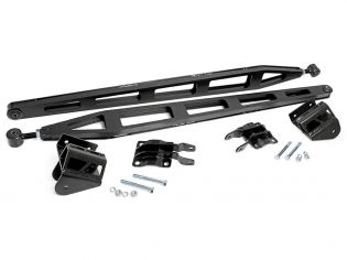 """Titan XD 2016-2021 Nissan Crew Cab 4wd (w/ 6"""" Lift) - Rear Traction Bars by Rough Country"""
