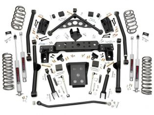 """4"""" 1999-2004 Jeep Grand Cherokee WJ 4WD Lift Kit by Rough Country"""