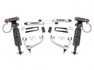 """3"""" 2021 Ford F150 4wd Lift Kit (w/lifted Vertex Adjustable Coilovers) by Rough Country"""
