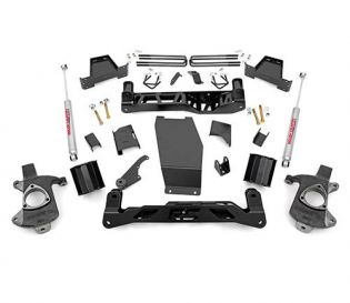 """6"""" 2014-2018 GMC Sierra 1500 4WD Lift Kit by Rough Country"""