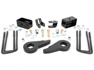 """1.5-2.5"""" 1999-2006 GMC Sierra 1500 4WD Leveling Kit by Rough Country"""