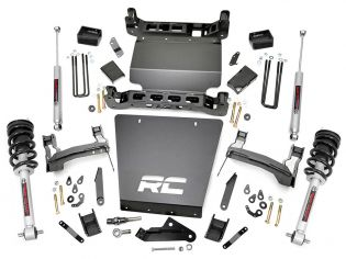 "5"" 2014-2018 Chevy Silverado 1500 4WD Lift Kit (w/Lifted N3 Struts) by Rough Country"