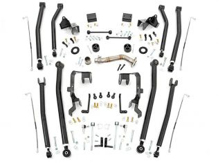 """4"""" 2007-2018 Jeep Wrangler JK (4-door) 4wd Long Arm Upgrade Kit by Rough Country"""