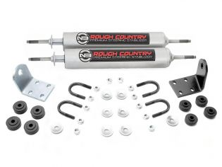 Bronco 1978-1979 Ford 4WD - Dual Steering Stabilizer Kit by Rough Country