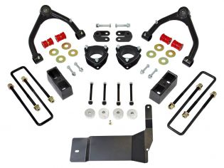 """4"""" 2014-2018 Chevy Silverado 1500 4WD (w/aluminum or stamped steel factory arms) Lift Kit by ReadyLift"""