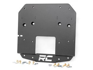 Wrangler JL 2018-2021 Jeep Spare Tire Relocation Bracket by Rough Country