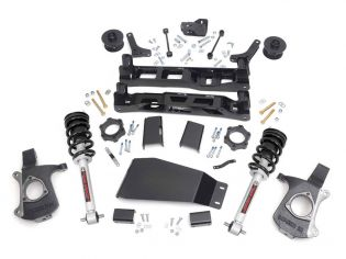 """5"""" 2007-2013 Chevy Avalanche 1500 4WD Lift Kit (w/lifted struts) by Rough Country"""