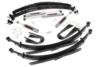 """2"""" 1977-1987 Chevy Suburban 3/4 ton 4WD Lift Kit (w/ 52"""" Rr Springs) by Rough Country"""