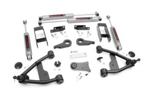 """2.5"""" 1982-2004 Chevy S-10 Pickup 4WD Lift Kit by Rough Country"""