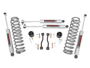 """2.5"""" 2020-2021 Jeep Gladiator Lift Kit (w/coil springs) by Rough Country"""