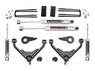 """3"""" 2001-2010 Chevy Silverado 2500HD/3500 Lift Kit by Rough Country"""