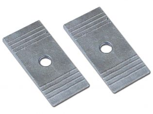 """2 Degree Shim 2.5"""" Wide - Aluminum, Rubicon by Rubicon Express"""