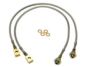 """1/2 & 3/4 ton Pickup 1970-1972 Chevy/GMC 4wd (w/ 6-8"""" Lift and disc brakes) - Front Brake Lines by Skyjacker"""