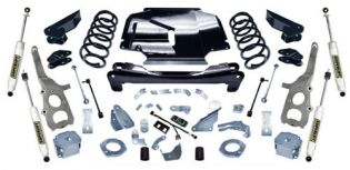 """4"""" 2006-2007 Jeep Grand Cherokee WK 4WD Lift Kit by Superlift"""