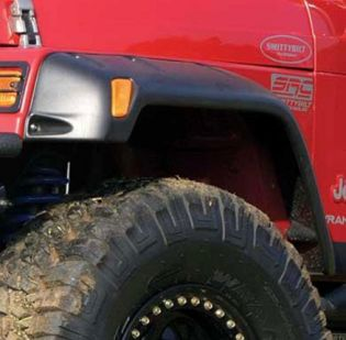 TJ/LJ 1997-2006 Jeep Extra Wide Fender Flares by Smittybilt