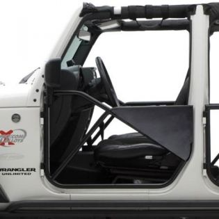 JK 2007-2018 Jeep (2/4dr) - Front SRC Tubular Doors by Smittybilt
