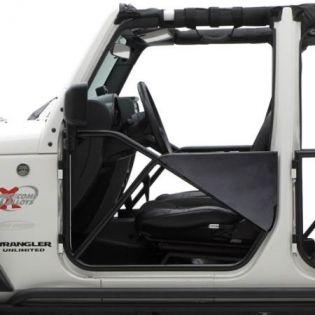 JK 2007-2018 Jeep (2/4dr) - Rear SRC Tubular Doors by Smittybilt