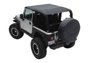 JK 2007-2009 Jeep Black Diamond Extended Top (2 dr) by Smittybilt
