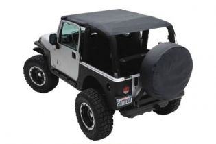 JK 2010-2018 Jeep Black Diamond Extended Top (2 dr) by Smittybilt