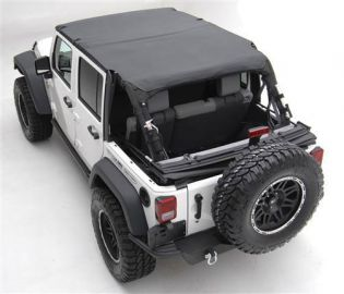 JK 2007-2009 Jeep Black Diamond Extended Top (4 dr) by Smittybilt