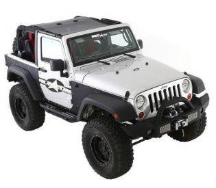 JK 2007-2018 Jeep Cloak Mesh Extended Top (2 dr) by Smittybilt