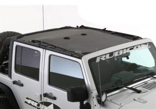 JK 2007-2018 Jeep Cloak Mesh Extended Top (4 dr) by Smittybilt