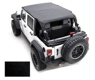 TJ 1997-2006 Jeep Black Denim Standard Top by Smittybilt