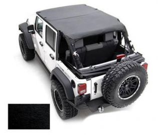 TJ 1997-2006 Jeep Black Denim Extended Top by Smittybilt
