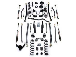 """4"""" 2007-2018 Jeep Wrangler JK 4WD (4dr) Elite LCG Long Arm Lift Kit w/ Shocks by Teraflex"""