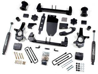 """6.5"""" 2014-2018 GMC Sierra 1500 4WD (w/cast steel factory arms) - Lift Kit by Zone"""