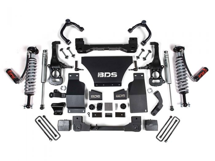BDS 1805F Trail Boss 4 inch Coilover Lift Kit